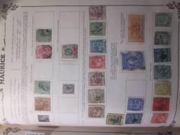 COLLECTION  TIMBRES  DEBUT 1858 MAURICE  VOIR PHOTOS - Mauritius (...-1967)
