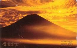 JAPON JAPAN VOLCAN VOLCANO FUJIYAMA 105U UT - Volcans