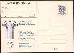Italia/Italy/Italie: Intero, Stationery, Entier (Testo Allineato, Texte Aligné, Aligned Text) - Stamped Stationery
