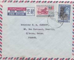 Lettre De Malaya, Perak Pour Paris Par Avion - Federation Of Malaya