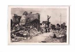 78 CONFLANS STE HONORINE Fin D'Oise, Guerre 1939-45, Quai, Ruines, Bombardement, CPSM 9x14, 194? - Conflans Saint Honorine