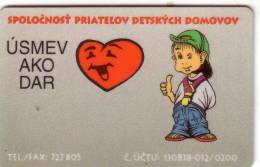 SLOVENIE SLOVENIA ENFANT KID COEUR HEART  UT - Slovénie