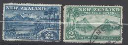 NOUVELLE - ZELANDE - 1903/08 -  N° 116 & 124 - OBLITERES - B - - Gebruikt