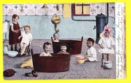 * Bébés Multiples - Babies - Baby (Fantaisie - Fantasy) * (nr 205) Salle De Bain, Bathroom, Badkamer, Pispot, Douche - Bebes