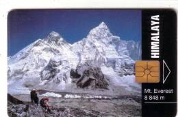 REPUBLIQUE TCHEQUE MONTAGNE MOUNTAIN SUMMIT MONT EVEREST HIMALAYA SHERPA   UT - Montagnes
