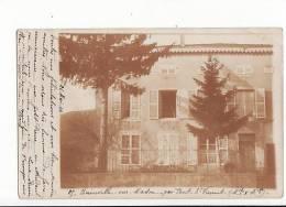 Carte Photo 1904 Bainville Sur Madon Par Pont St Vincent : Villa Ou Château ,manoir ? - Otros Municipios