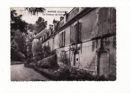 Carte 1955 MANSLE / CHATEAU DE GOUE : Le Perron D'entrée - Mansle
