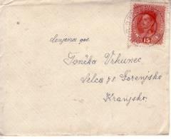 BRIEF  DRAUBURG-DRAVOGRAD  1918 - Slowenien