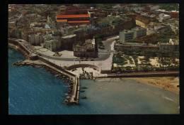 L4699 Otranto - Panorama Dall'aereo Delle Mura E Della Cattedrale - Altre Città