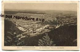 - 2421 - NIEDERBRONN-LES-BAINS - Vue Panoramique Prise De Wasenbourg, écrite, Petit Format, Mercure De 50c, BE, Scans. - Niederbronn Les Bains