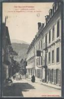 - CPA 65 - Argelès, Route De Pierrefitte à L'Hôtel De France - Argeles Gazost