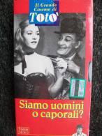 VIDEOCASSETTA VHS - TOTO´  Siamo Uomini O Caporali  Nuovo - Classic