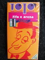 VIDEOCASSETTA VHS - TOTO´   FIFA E ARENA   Nuovo - Classic