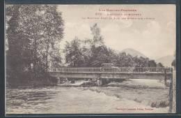 - CPA 65 - Bagnères-de-Bigorre, Le Nouveau Pont Du Parc Des Sports Sur L'Adour - Bagneres De Bigorre