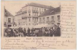 16981g MARCHE - HOTEL - CAFE - Heyst - 1903 - Heist