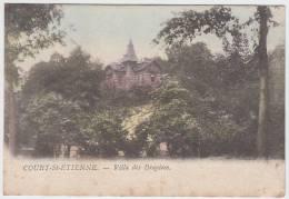 17120g VILLA Des BRUYERES - Court-St-Etienne - 1907 - Colorisée - Court-Saint-Etienne