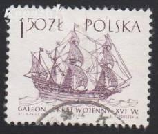 1964 - POLSKA - Michel 1466 - Galleon/Galion (1588) - 1944-.... République