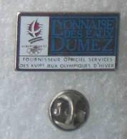 ALBERTVILLE 92 LYONNAISE DES EAUX DUMEZ         GGG   9 - Olympische Spelen