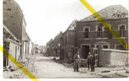 59 NORD BAUVIN Canton De SECLIN CARTE PHOTO ALLEMANDE  MILITARIA 1914/1918 - Autres Communes
