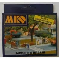 - MKD - Matériel Urbain - HO Ou 1/87° - Réf 676 - Scenery