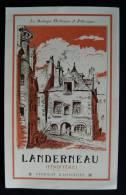 BRETAGNE ( Finistère) LANDERNEAU Albert ROBIDA 1910  Syndicat D'initiative Tourisme - Bretagne