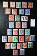 Timbres De Franchise Et De Guerre 2 Timbres Signés - Franchise Militaire (timbres)
