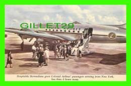 AIRPLANES - COLONIAL AIRLINE´S  SKYCRUISERS LINK - HOSPITABLE BERMUDIANS - HARRY H. BAUMANN - - 1946-....: Moderne