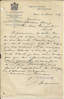 UTRECHT  TH.  VERHOEVEN  Fabrieken Tot Bereiding Van .....   4.03.1909 - Pays-Bas