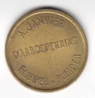 Waardepenning A Janvier  Flipper  Bumper  Kermismunt  (2184) - Other