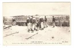 CPA -10 - Camp De Mailly : Ecoles à Feu - Mortier De 320 ( ? ) Rayé - Chargement De La Pièce Avec Obus De 93 Kg - Manoeuvres
