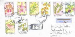 Gambia  -  Omslag Reco Banjul 1990 (RM0087) - Orchidées