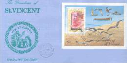 The Grenadines Of St. Vincent  - FDC  Pax Et Justitia  1990 (RM0278) - Orchideeën