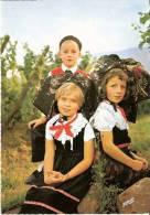 FOLKLORE D´ALSACE - Enfants En Costumes Traditionnels - 7125 - W-21 - Costumi