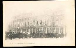 75  PARIS 01 /  Incendie Du Théâtre Français Le 8 Mars 1900  / - Arrondissement: 01
