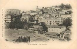 ALGERIE BOUGIE VUE GENERALE PRECURSEUR  E. LE DELEY N°1  SCANS RESTO VERSO - Andere Steden