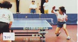 Télécarte JAPON * Table Tennis (310) * Tischtennis * Ping Pong * Tennis De Table * JAPAN * TAFELTENNIS * - Sport