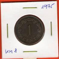 Malta ** 1 Cent 1975 ** KM8 - Malta