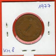Malta ** 1 Cent 1977 ** KM8 - Malta