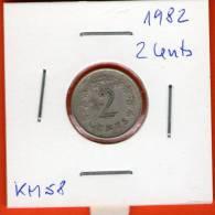 Malta ** 2 Cents 1982 ** KM9 - Malta
