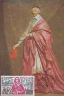Carte-Maximum FRANCE N° Yvert  1655 (RICHELIEU )  Obl Sp Ill Ministère De La Marine (Ed Nomis Anc)  RR - 1970-79