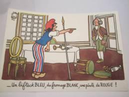 DESSIN DE JEAN EFFEL MEGABYL PUBLICITE LABORATOIRE PHARMACEUTIQUE - Advertising