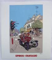 Ex-libris PLANETE BD - 2010 - FRANQUIN - SPIROU ET FANTASIO - Illustrators D - F