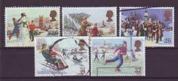 GB - 1990 - MiNr. 1300-1304 - Gestempelt - 1952-.... (Elisabeth II.)