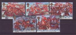 GB - 1988 - MiNr. 1155-1159 - Gestempelt - 1952-.... (Elisabeth II.)