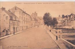 ¤¤  -  GUERET   -   Boulevard Carnot Et Square, Vue Prise De La Banque De France   -  ¤¤ - Guéret