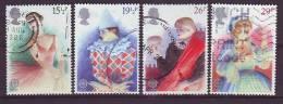 GB - 1982 - Europa - MiNr. 914-917 - Gestempelt - 1952-.... (Elisabeth II.)