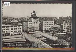 GENEVE DE JADIS - LA TOUR ET LES PASSERELLES DE L'ILE EN 1870 - TB - GE Ginevra