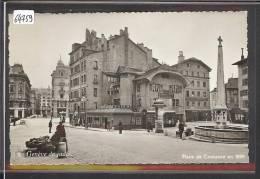 GENEVE DE JADIS - PLACE DE COUTANCE EN 1899 - TB - GE Ginevra