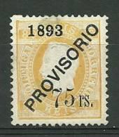 Portugal #97 D.Luis Provisorio Mint - L3185 - 1862-1884 : D.Luiz I