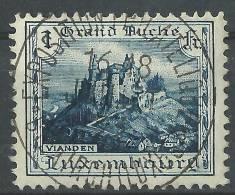 Luxembourg - 1924 Vianden No. 157 Avec Cachet Spécial Expo. Phil - Marcophilie - EMA (Empreintes Machines)